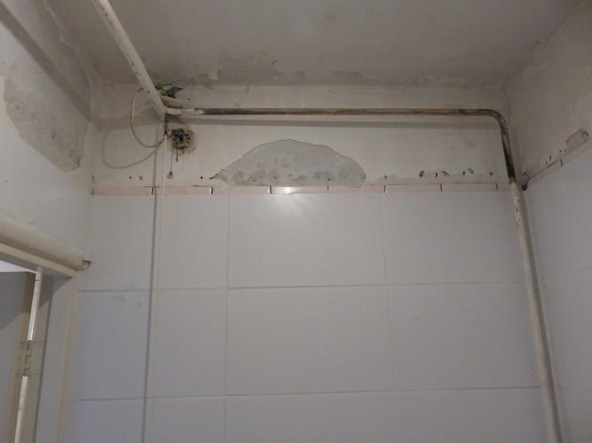 Badkamer Plafond Afzuiging : Wc betegelen tot plafond toilet mooi geworden toilet betegelen